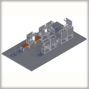 Produktionsstraße