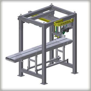 Stahlplattentransportsystem